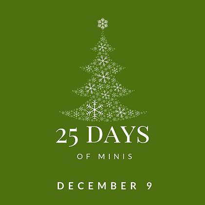 Dec 9 - 25 Days of Minis