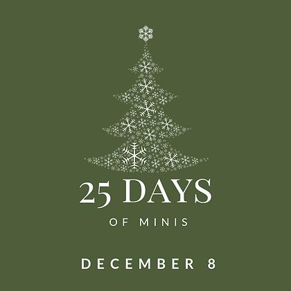 Dec 8 - 25 Days of Minis