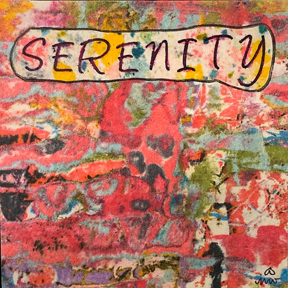 SERENITY PRAYER: Serenity to accept the things I cannot change