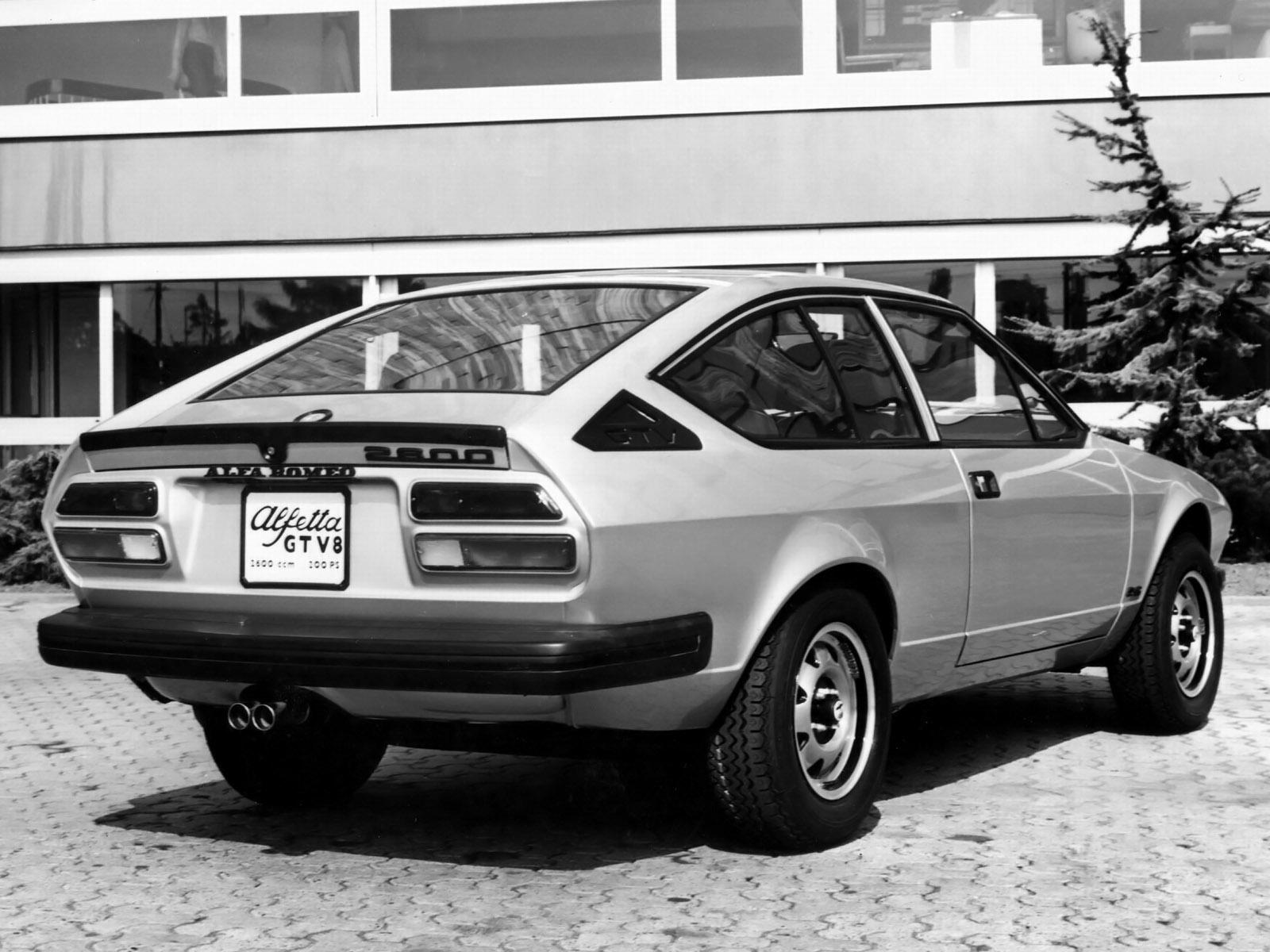 1977 Coupè - Alfetta GTV V8