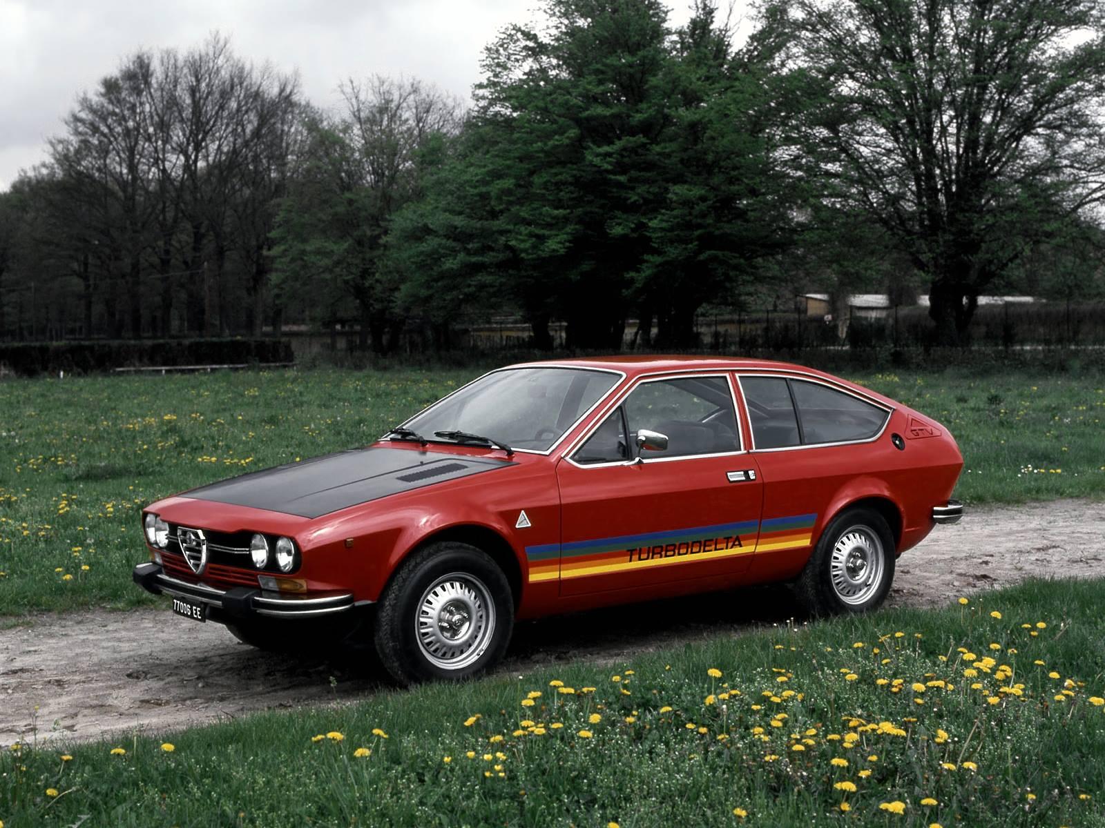 1979 Coupè - Alfetta GTV Turbodelta