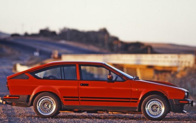 1984 Coupè - Alfetta GTV6 St. Africa