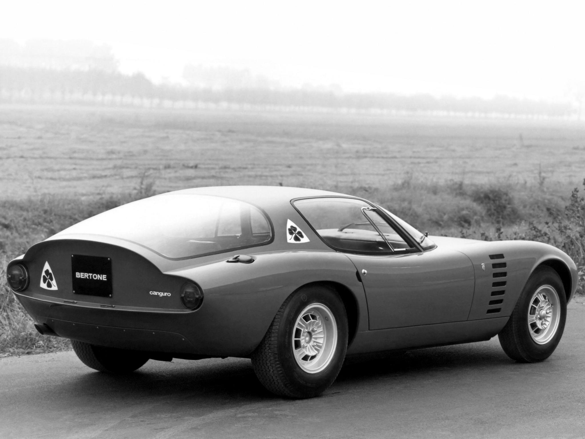 1964 Concept - Bertone Canguro