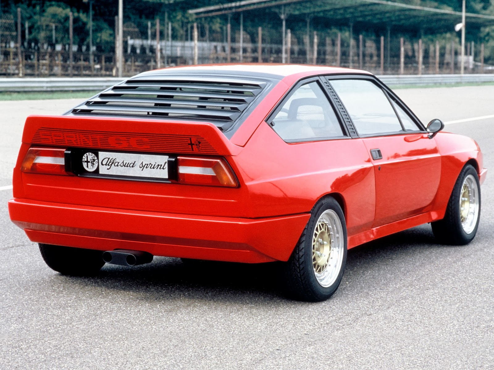 1982 Coupè - Alfasud Sprint 6C