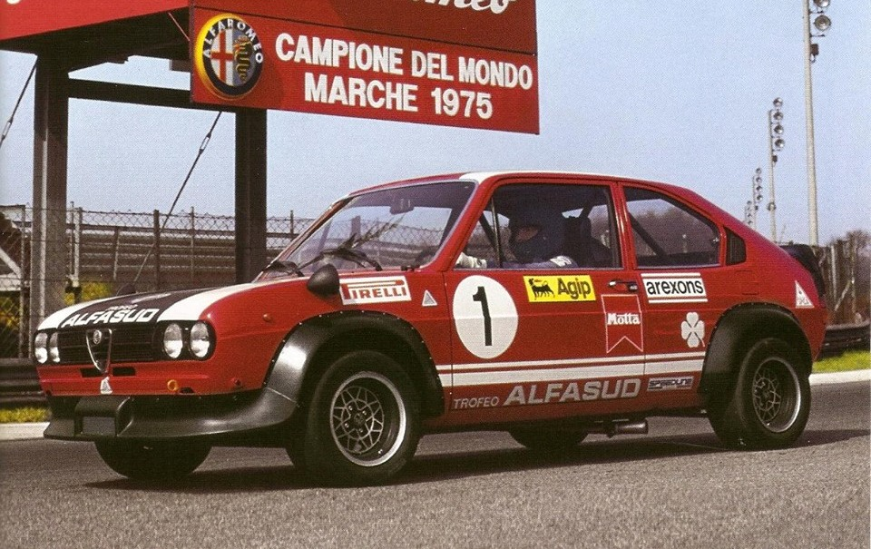 1976 Salon - Alfasud TI Trofeo