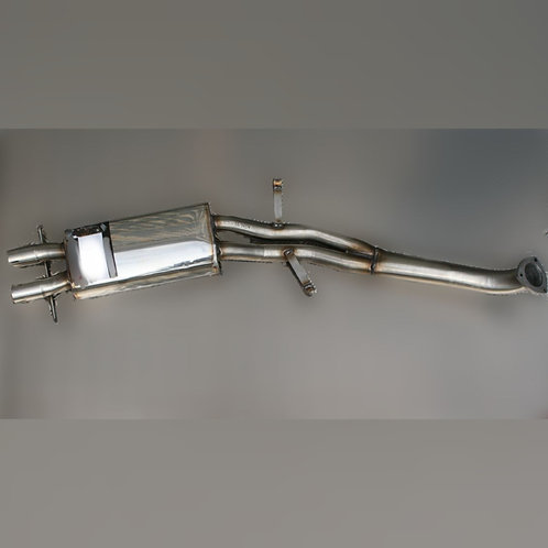 Middle Exhaust GTV6 and 75V6 with silencer