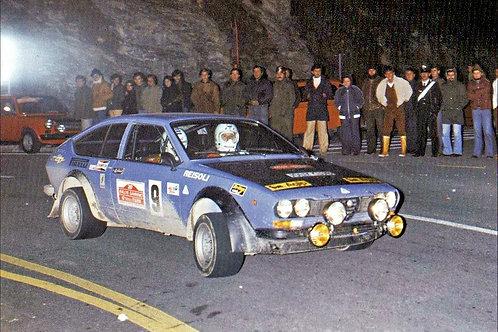 Body kit Alfetta GTV Gr.2 SanRemo