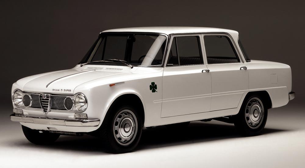 1963 Salon -Giulia TI Quadrifoglio V
