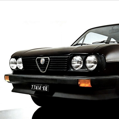 FRONT LIGHTS ALFASUD 2.nd SERIES COMPLETE