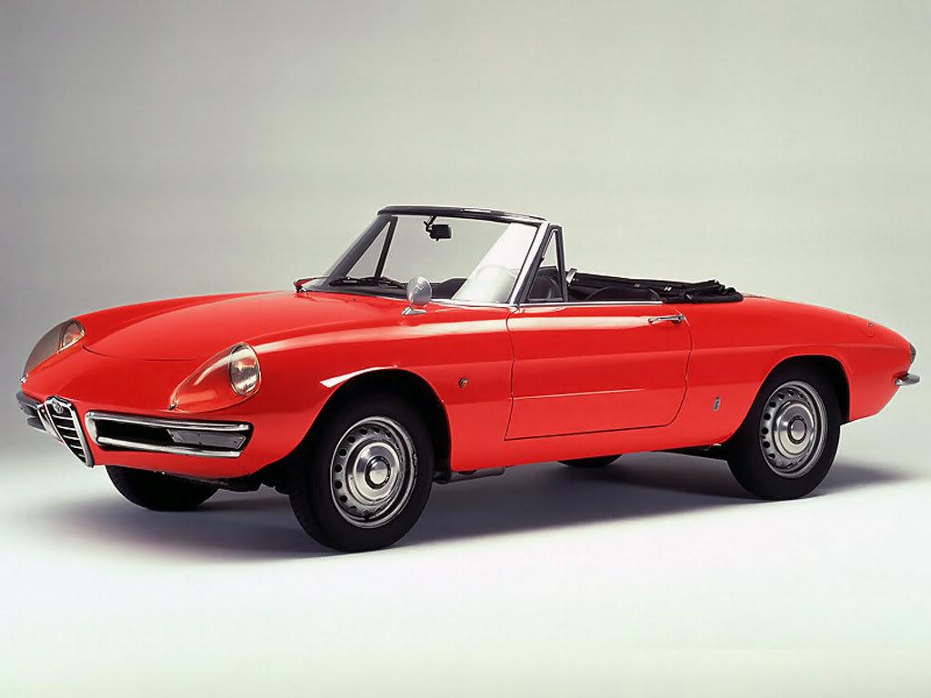 1967 Cabrio - Giulia Spider 1600