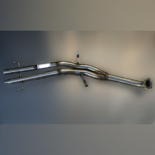 Middle Exhaust Alfa romeo GTV6 and 75 V6 without silencers
