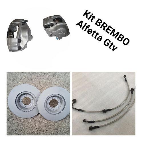 Kit Upgrade Brake disks ventilated for Alfetta Gt - Gtv