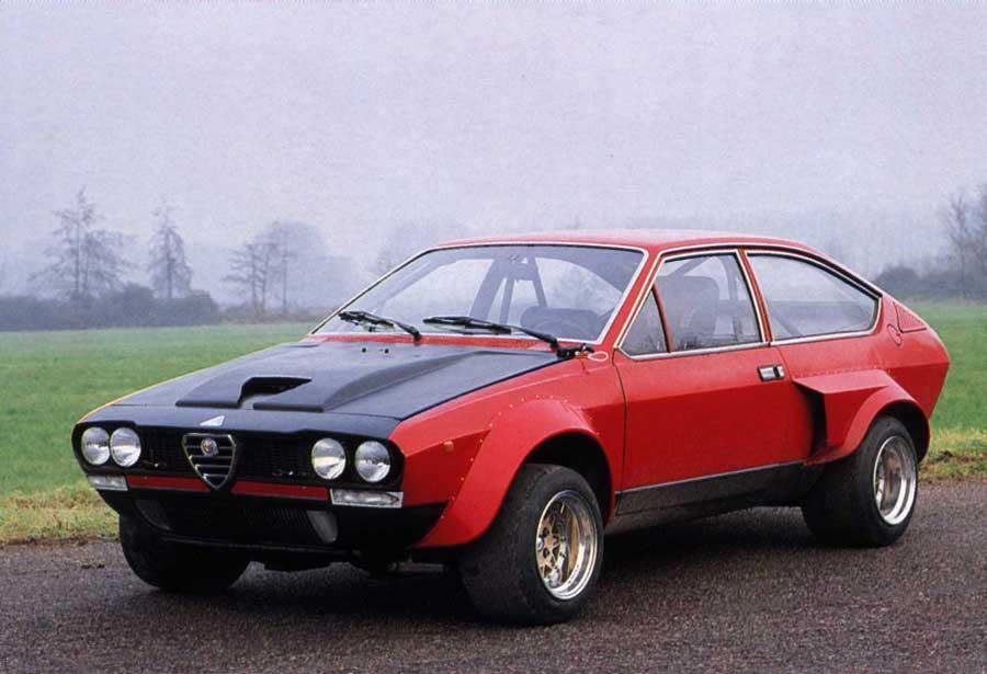 1975 Prototype - Alfetta GTV V8