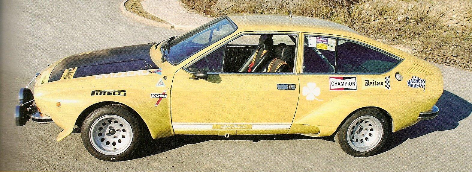 1975 Coupè - Alfetta gt Gr. 2