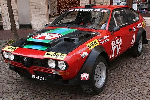 Body kit Alfetta GTV Turbodelta