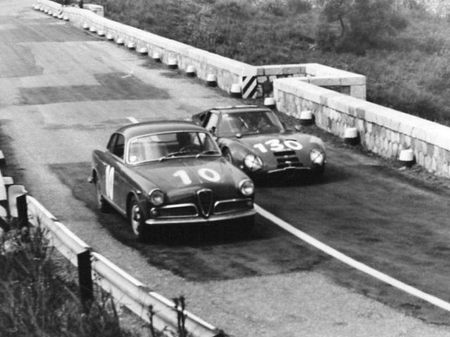 Alfa Romeo before Autodelta scene
