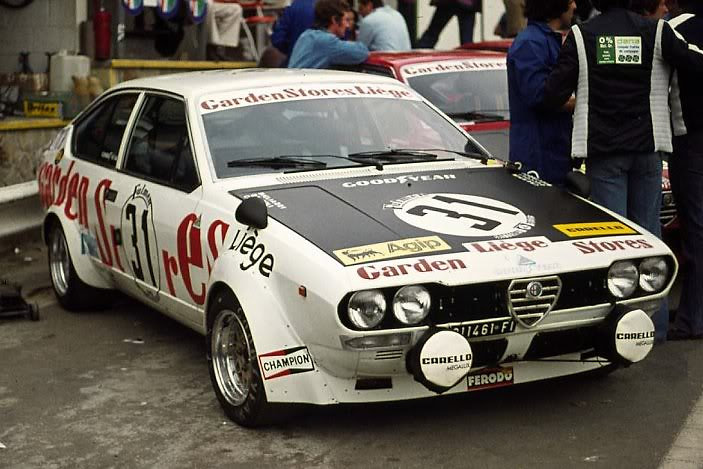Body kit Alfetta GT/GTV ETCC Gr  2