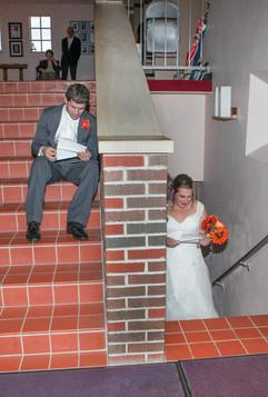 Before Wedding letter exchange