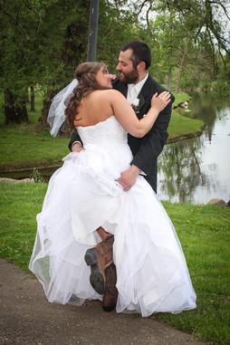Brittany & James Allen at Medford Park
