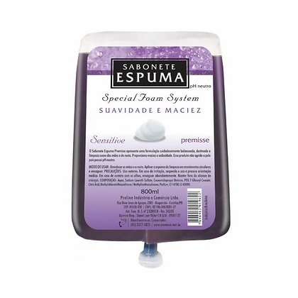 Sabonete Espuma Sensitive Premisse - 800mL / 5L