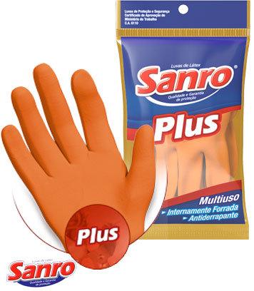 Luva MultiUsoPlus Sanro - 1 Par