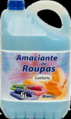 Amaciante de Roupas Rialer - 5L