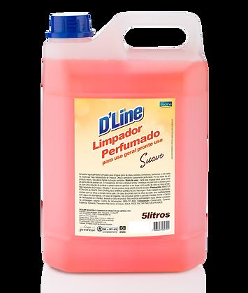 Limpador Perfumado D'Line - 5L
