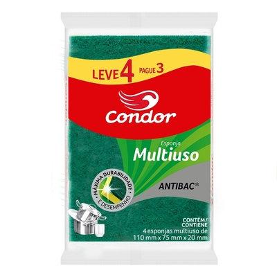 Esponja Multiuso Leve 4 pague 3 Condor - 4un