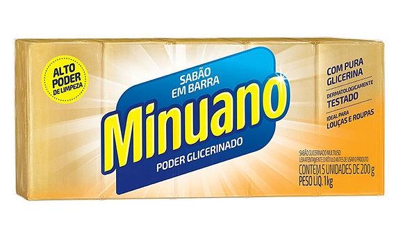 Sabão em Barra Minuano - 1Kg