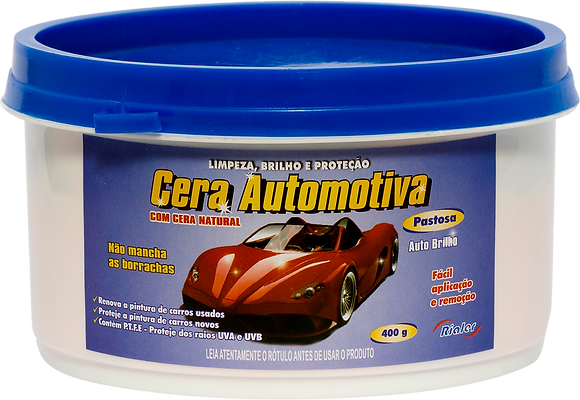 Cera Automotiva Rialer - 400g / 500mL / 3.6kg