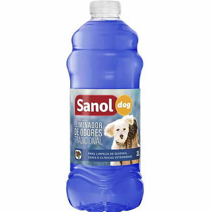 Eliminador De Odores Sanol Dog Tradicional - 2L