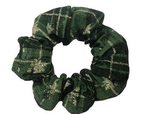 Green Snowflake Plaid