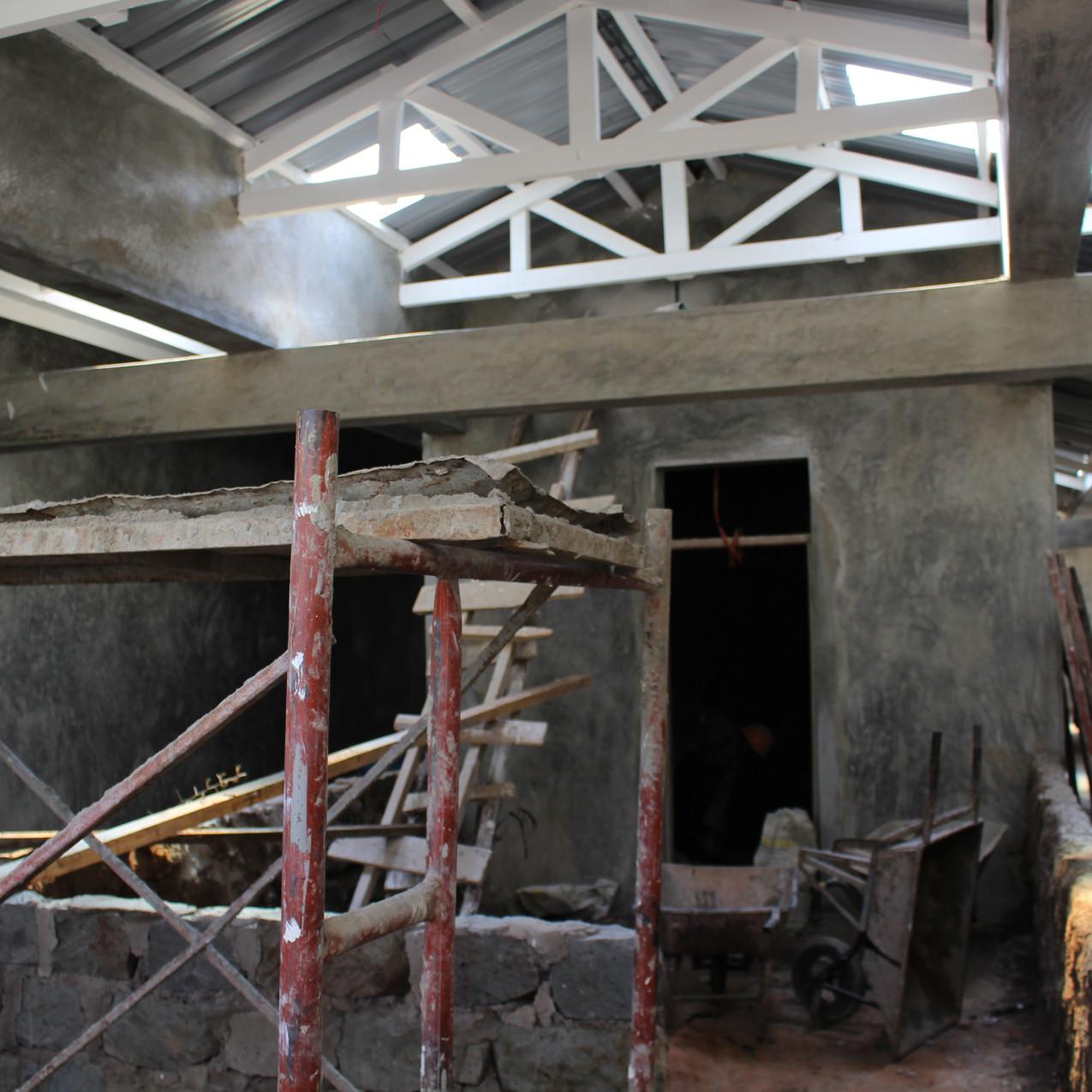 Construction of Baraka Hospital