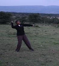 Cheryl in Kenya