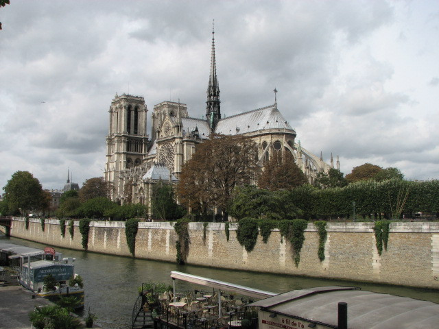 Notre Dame photo taken in 2011.