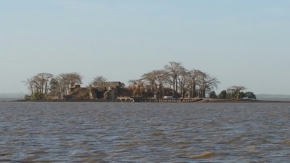 An island in the Gambia River.