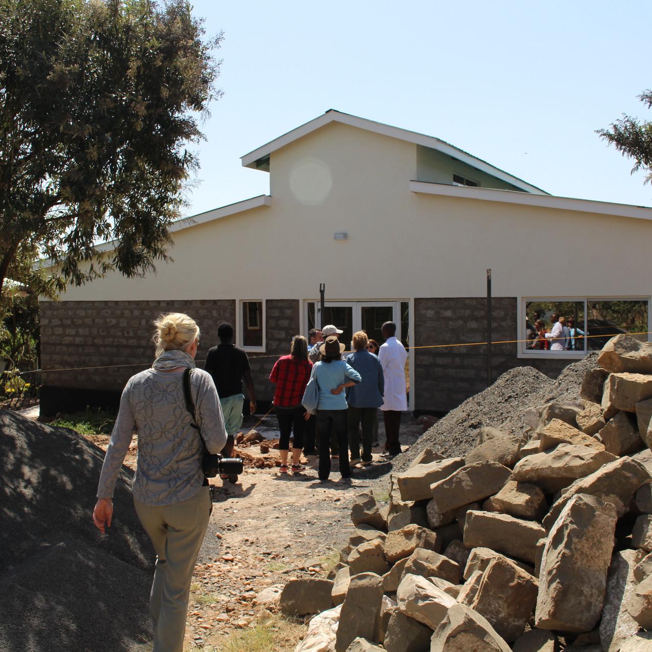 Baraka Hospital Construction Area