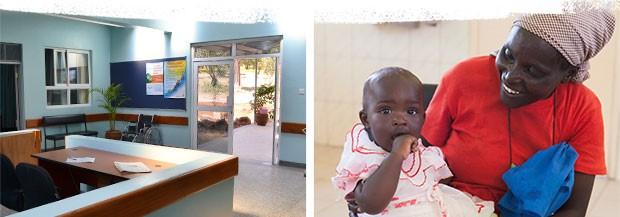 New Baraka Hospital Lobby & Patients
