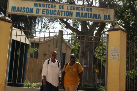 An Elite Girls School on Goree Island