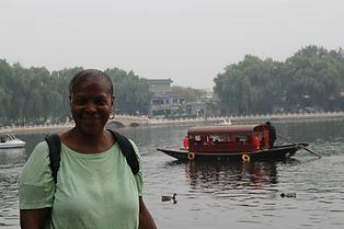 Cheryl in China