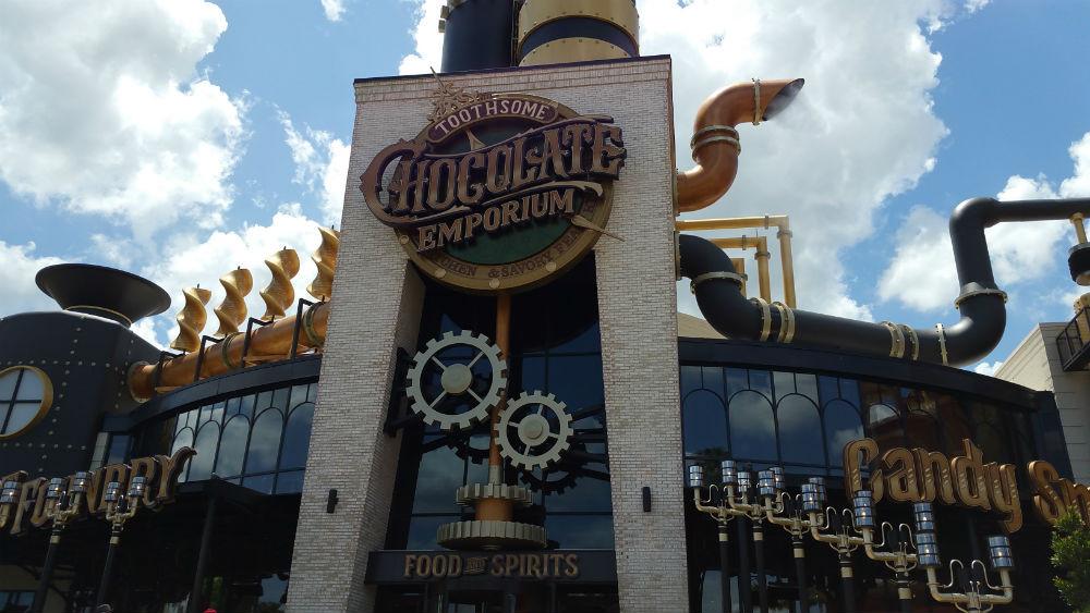 Toothsome Chocolate Emporium @ Universal CityWalk Orlando