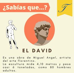 ¿Sabías que...? EL DAVID