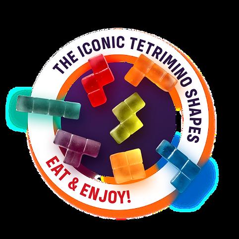 Iconic Tetrimino Shapes - Eat & Enjoy