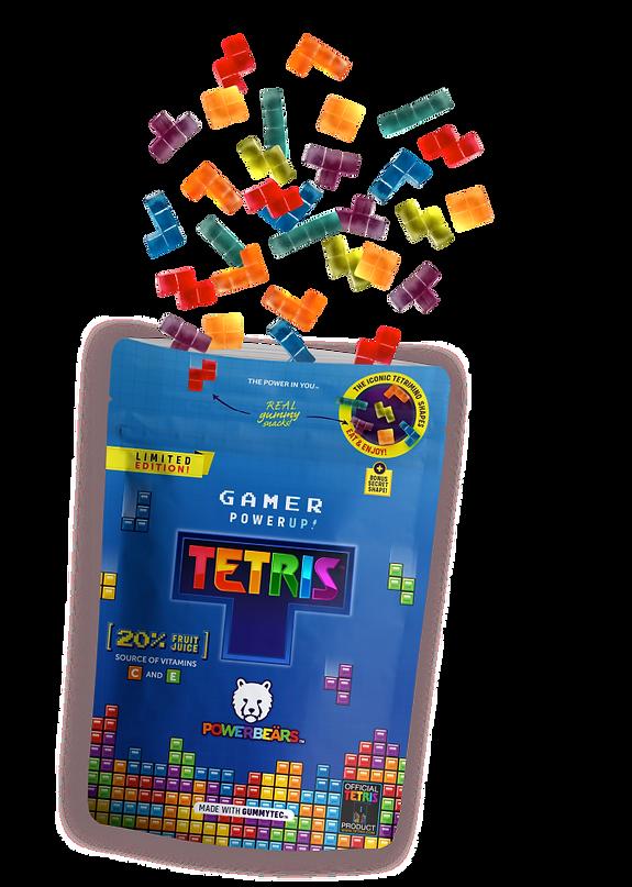 Powerbeärs Tetris Gummies Pack