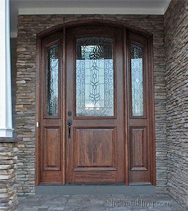 Arched_Mahogany_Entry_Door_Sidelights_in