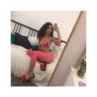 Mirrories, the selfie you take in front of the mirror, Love how this babe has styled her Cerise furrys. @officialbreanne