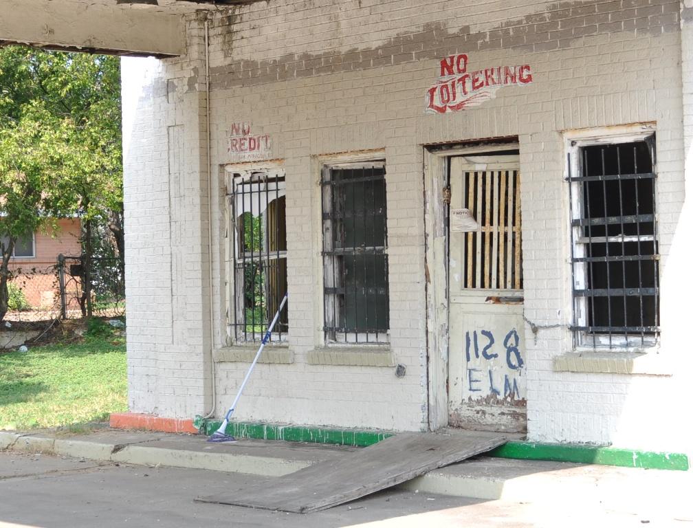 Old Gas Station on Elm St.