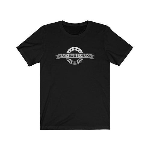 A Fatherless America Logo Short Sleeve Tee