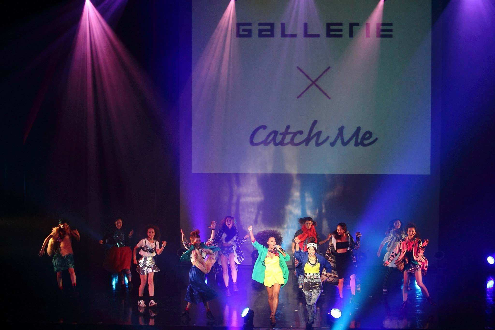 ZEPP NAMBA CATCH ME FASHION SHOW