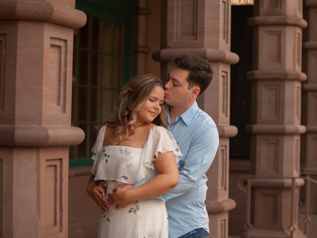 Romantic Charleston Engagement Session
